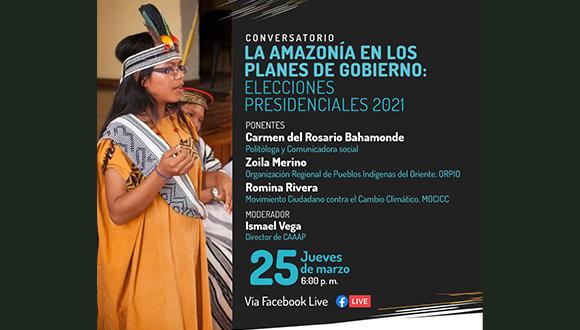 Lee más sobre el artículo La Amazonia en los Planes de gobierno: Elecciones presidenciales 2021.