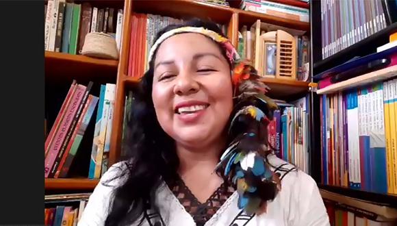 Lee más sobre el artículo Mujeres Indigenas del Sur y Norte, desde la espiritualidad del cuidado, comparten experiencias.