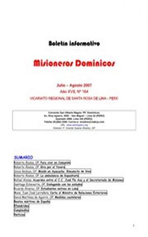 Boletín Misioneros Dominicos / 164 (2007)
