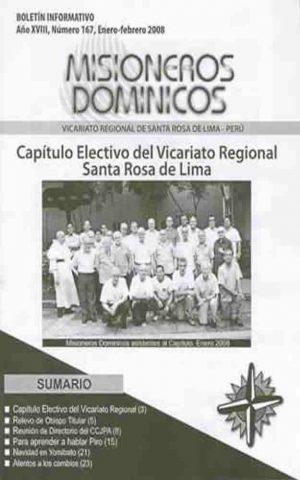 Boletín Misioneros Dominicos / 167 (2008)