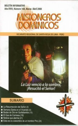 Boletín Misioneros Dominicos / 168 (2008)