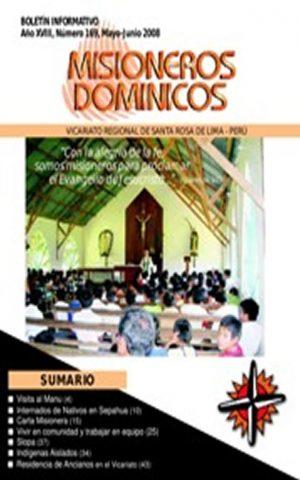 Boletín Misioneros Dominicos / 169 (2008)