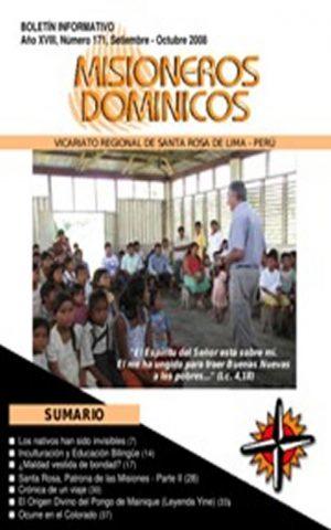 Boletín Misioneros Dominicos / 171 (2008)