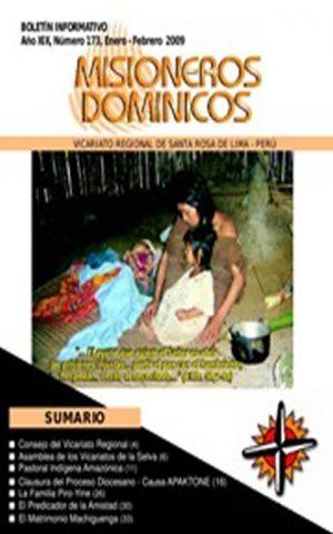 Boletín Misioneros Dominicos / 173 (2009)