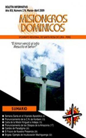 Boletín Misioneros Dominicos / 174 (2009)