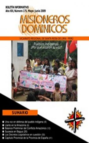 Boletín Misioneros Dominicos / 175 (2009)