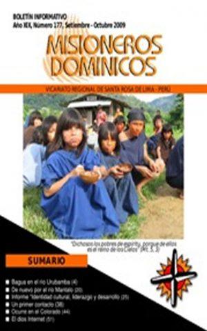Boletín Misioneros Dominicos / 177 (2009)