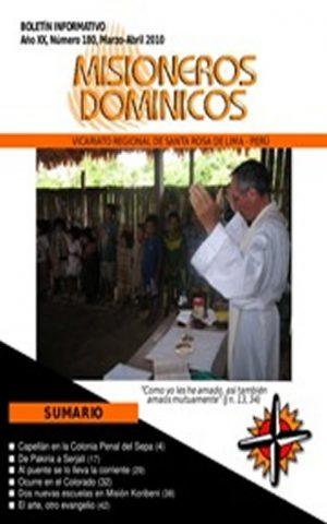 Boletín Misioneros Dominicos / 180 (2010)
