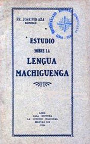 Estudio sobre la Lengua Machiguenga