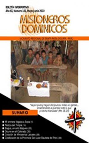Boletín Misioneros Dominicos / 181 (2010)