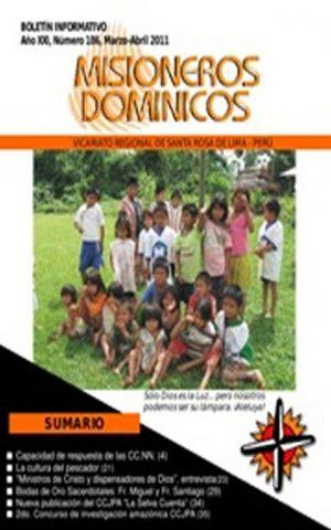 Boletín Misioneros Dominicos / 186 (2011)