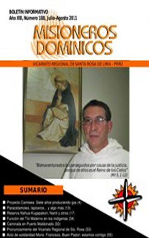 Boletín Misioneros Dominicos / 188 (2011)