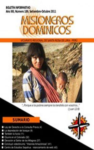 Boletín Misioneros Dominicos / 189 (2011)