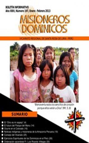 Boletín Misioneros Dominicos / 197 (2013)