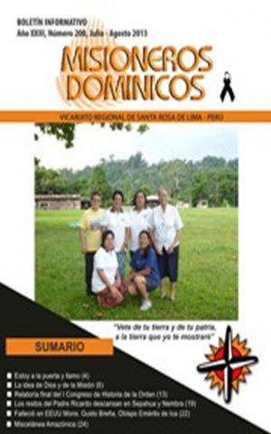 Boletín Misioneros Dominicos / 200 (2013)