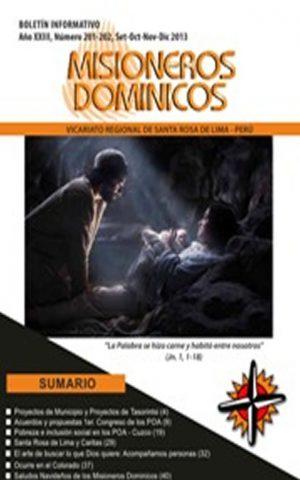 Boletín Misioneros Dominicos / 201-202 (2013)