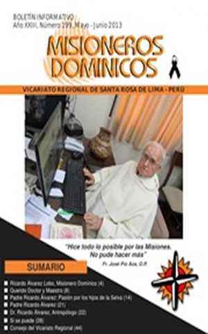 Boletín Misioneros Dominicos / 199 (2013)