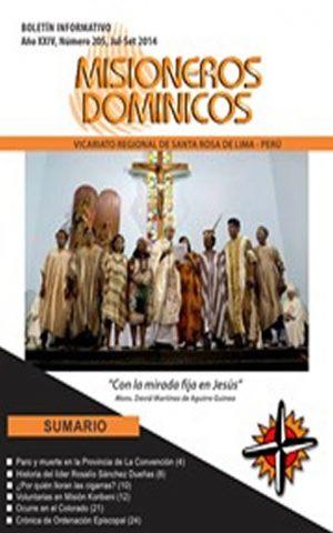 Boletín Misioneros Dominicos / 205 (2014)